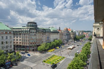 Hotel Ramada Prague City Centre**** - view of Wenceslas Square