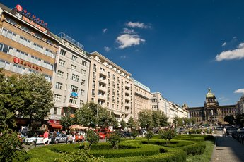Hotel Ramada Prague City Centre**** - view of the hotel from the Wenceslas Square